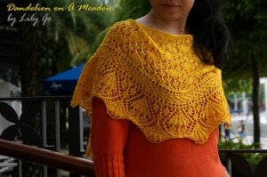 © Lily Go             From http://www.ravelry.com/patterns/library/dandelion-on-a-meadow
